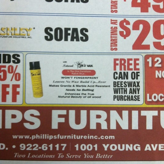 Photo Taken At Phillips Furniture By Phillips F. On 11/20/2012