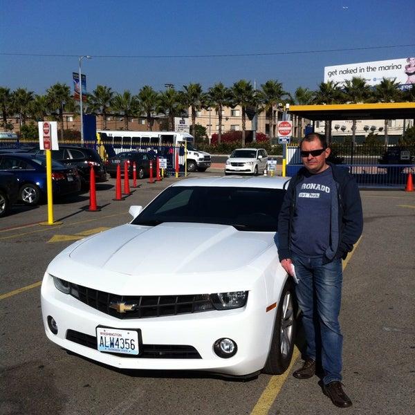 Rental Car Location In Los Angeles