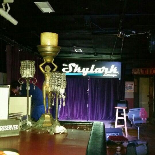 Photo taken at Skylark Lounge by Gina R. on 2/23/2016