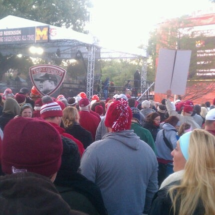Photo taken at South Oval by Shane S. on 10/27/2012