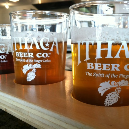 Photo taken at Ithaca Beer Co. Taproom by Jess M. on 11/11/2012