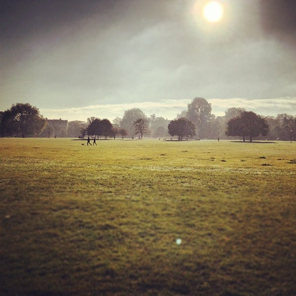 Photo taken at Clapham Common by Flo G. on 10/14/2012