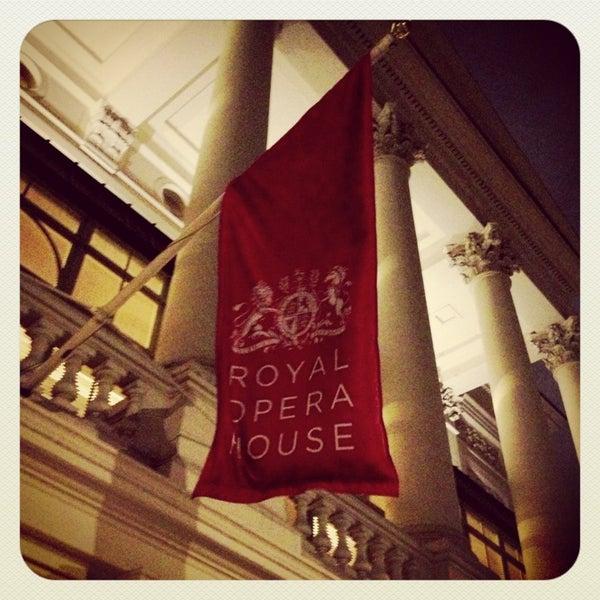Photo taken at Royal Opera House by Renaud B. on 3/24/2013
