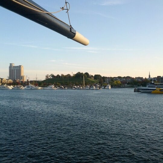 Photo taken at USS Constellation by Lyndsay P. on 10/17/2012