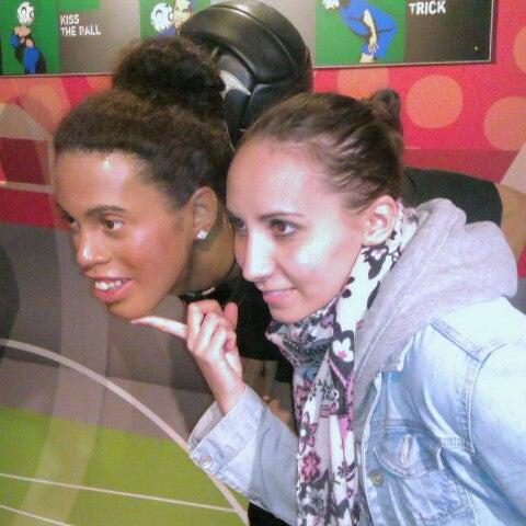 Photo taken at Madame Tussauds by Alsu I. on 5/15/2013
