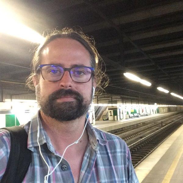Photo taken at Estació de Tren - València-Cabanyal by Garikoitz K. on 6/15/2017