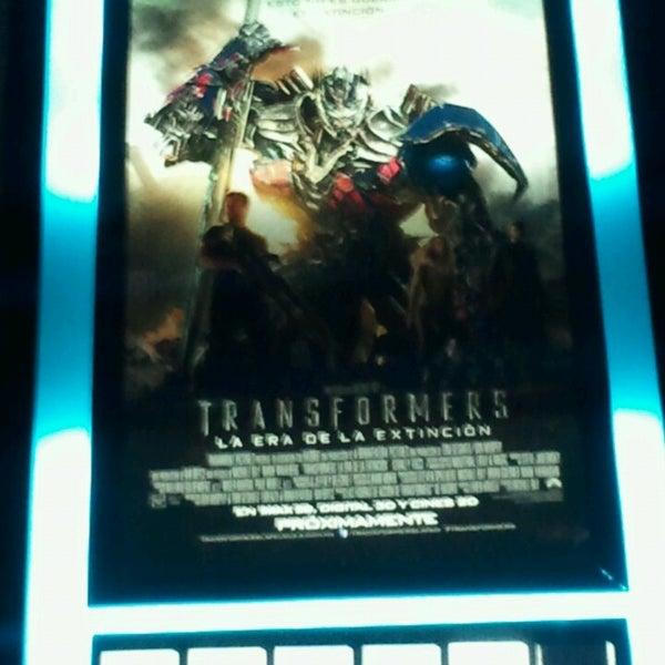 Photo taken at Cine Hoyts by Juan M. on 7/14/2014