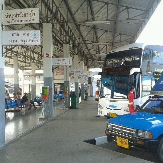 รูปภาพถ่ายที่ สถานีขนส่งผู้โดยสารจังหวัดน่าน โดย Nopparat W. เมื่อ 11/6/2012