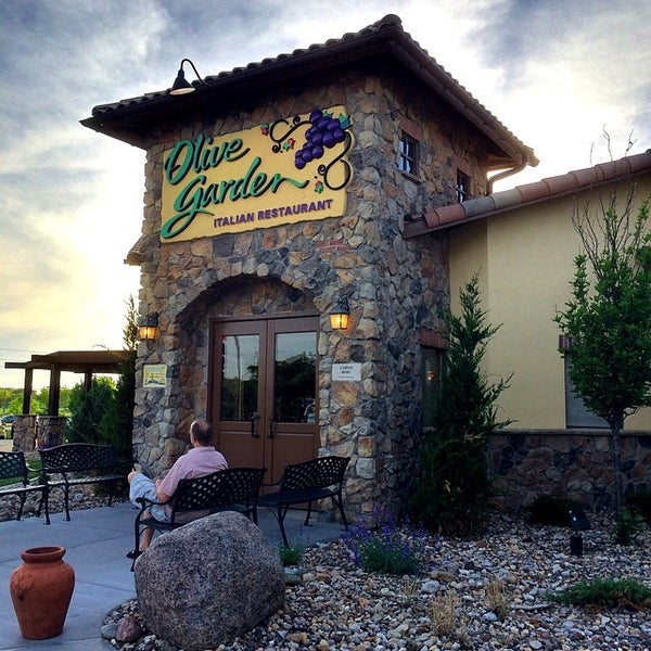 Photo Taken At Olive Garden By Gregory J. On 5/24/2014
