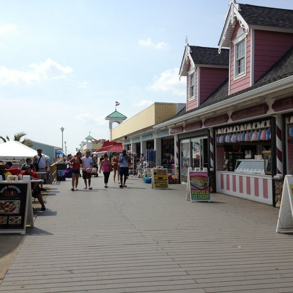 Photo taken at Point Pleasant Beach Boardwalk by Eric A. on 8/21/2013