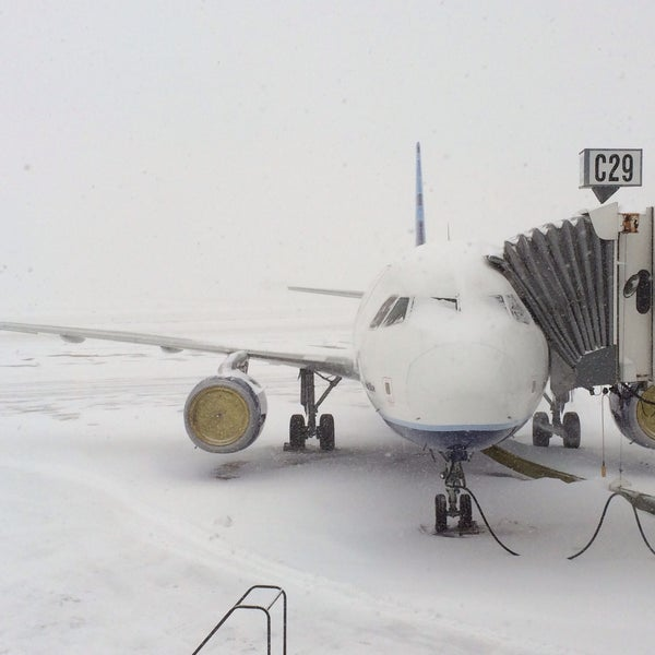 Photo taken at Gate C29 by Eric A. on 2/9/2015