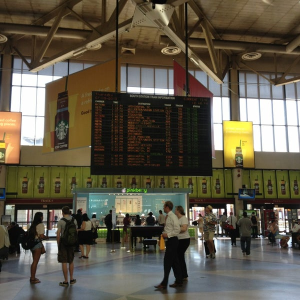 Photo taken at South Station Terminal (MBTA / Amtrak) by Eric A. on 7/18/2013
