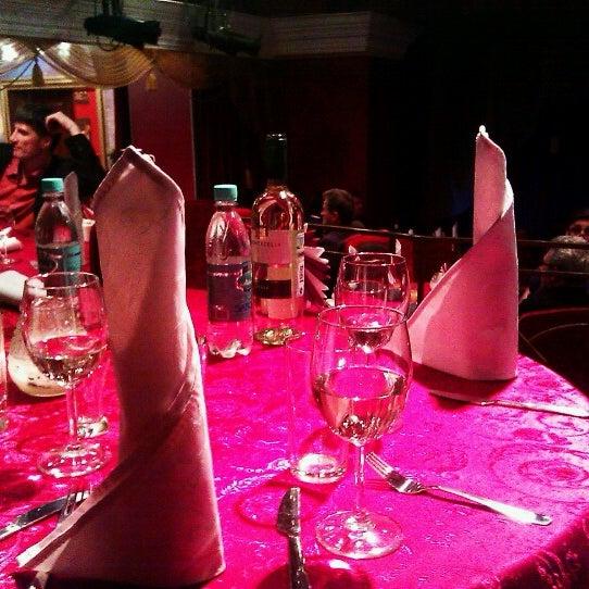 Снимок сделан в Театр-кабаре на Коломенской/ The Private Theatre and Cabaret пользователем Полина М. 2/1/2013