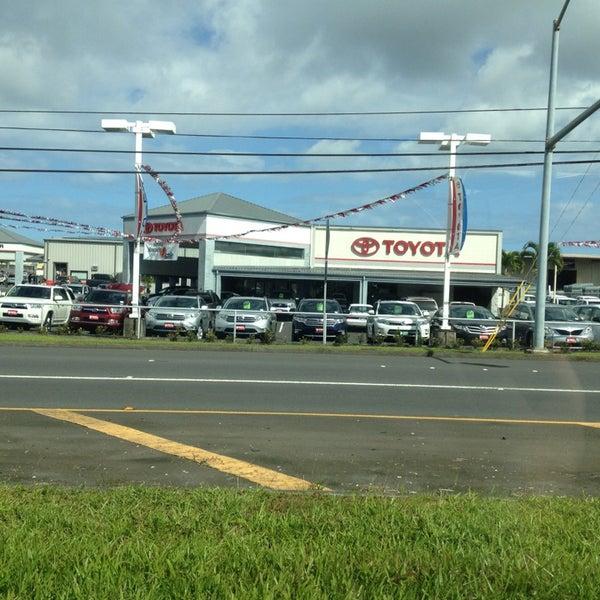 Photo Taken At Big Island Toyota By Big E On 3/2/2013
