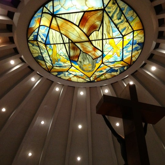 Photo taken at Sto. Niño de Paz Community Chapel by Baby Love_M&M on 10/7/2012