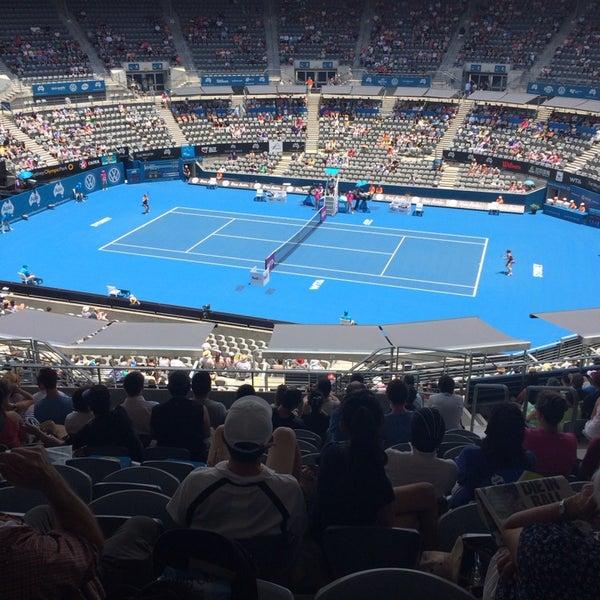 Photo Taken At Sydney Olympic Park Tennis Centre By Juan Ignacio M On 1