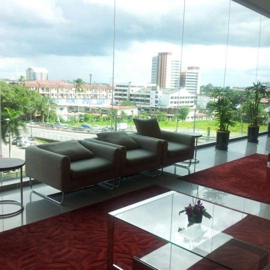 Photo taken at Pullman Kuching by Teik Chuan L. on 12/6/2012