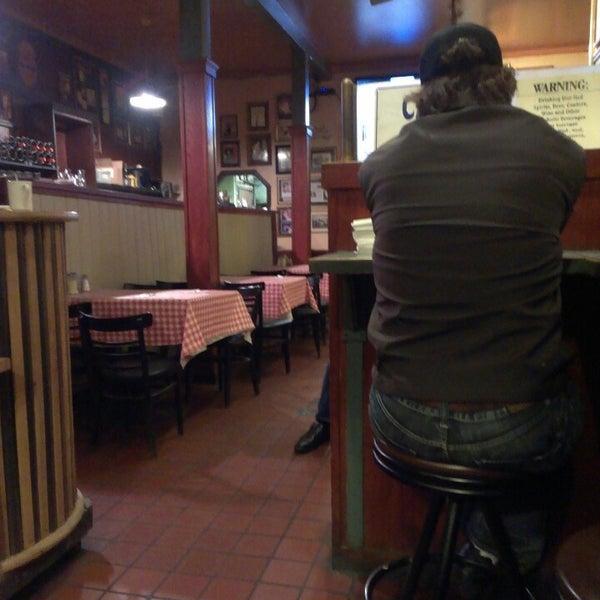 Photo taken at Milano Pizzeria by joshua w. on 2/18/2013