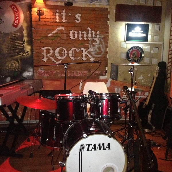 Photo taken at Bull McCabe by Paty M. on 4/17/2013