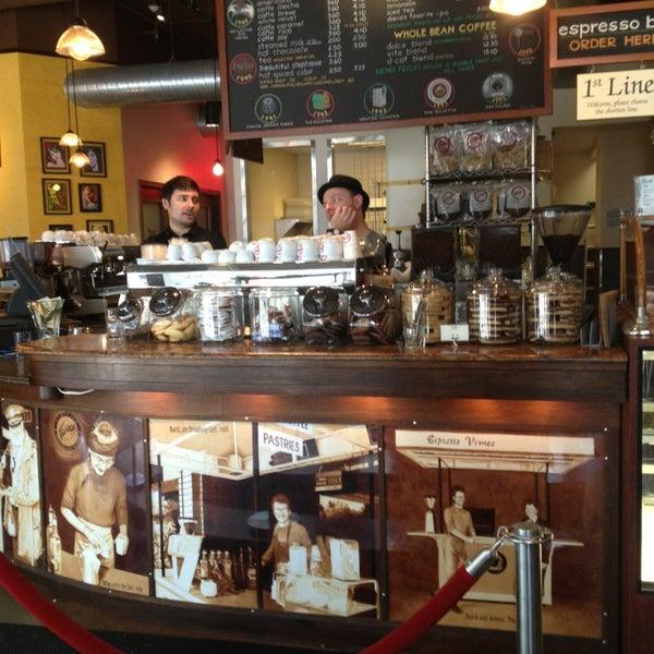 Photo taken at Espresso Vivace by Christine L. on 3/18/2013