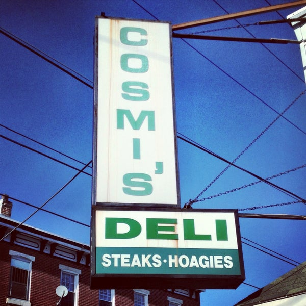 Photo taken at Cosmi's Deli by Ben P. on 5/5/2013