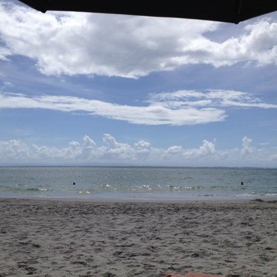 Photo taken at Playa El Yaque by Leonor R. on 11/30/2012