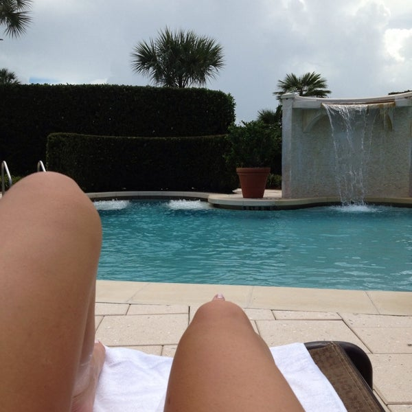 Photo taken at The Spa at Ponte Vedra Inn & Club by Kathryn B. on 9/11/2013
