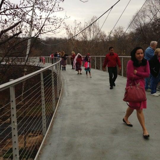 Photo taken at Liberty Bridge by Nick L. on 12/8/2012