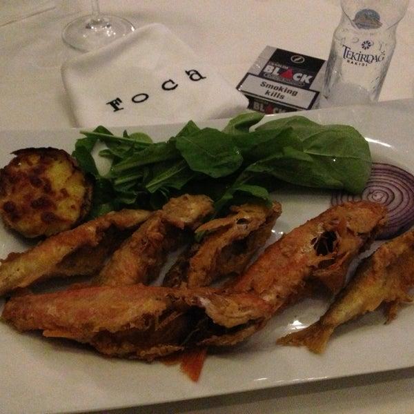 4/5/2013 tarihinde Mehmet K.ziyaretçi tarafından Foça Fish Gourmet'de çekilen fotoğraf