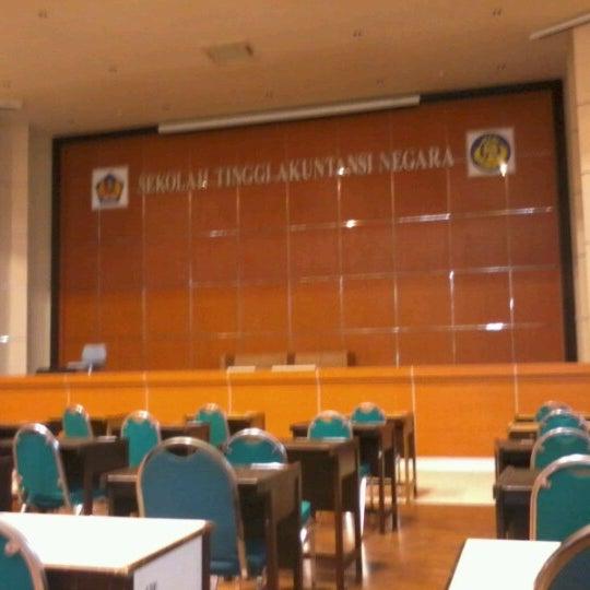 Photo taken at Sekolah Tinggi Akuntansi Negara (STAN) by Bagus Setyo W. on 11/25/2012