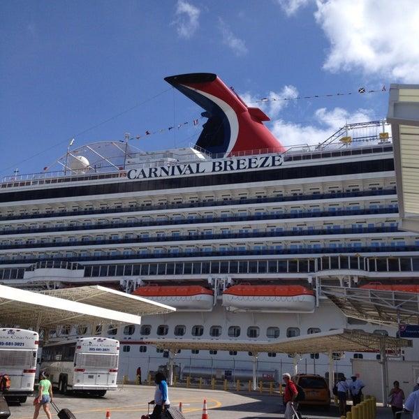 Carnival Breeze Cruise In Miami
