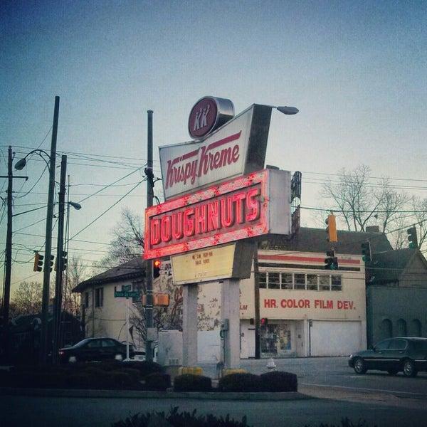 Photo taken at Krispy Kreme Doughnuts by Friar F. on 2/15/2013