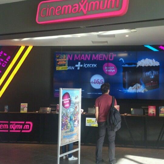 6/26/2013 tarihinde YAPRAK ..ziyaretçi tarafından Cinemaximum'de çekilen fotoğraf