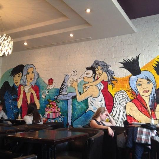 Photo taken at Кофеин by Natalia T. on 9/29/2012