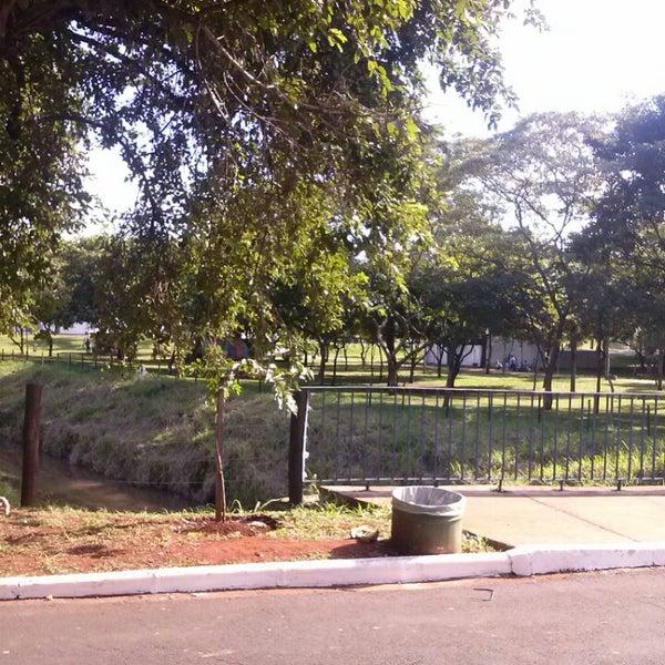 Photo taken at Parque Ecológico Maurilio Biagi by Valmir J. on 6/10/2013