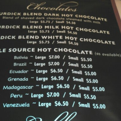 Photo taken at L.A. Burdick Chocolate by Valkyrie S. on 10/6/2012