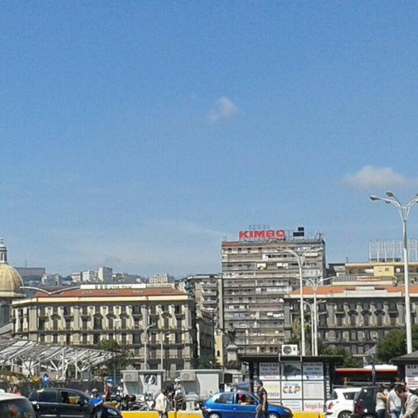 Photo taken at Napoli Centrale Railway Station (INP) by Gianni E. on 6/8/2013