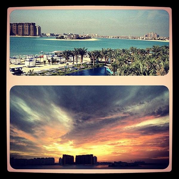 12/19/2012 tarihinde Dasha T.ziyaretçi tarafından Rixos The Palm Dubai'de çekilen fotoğraf