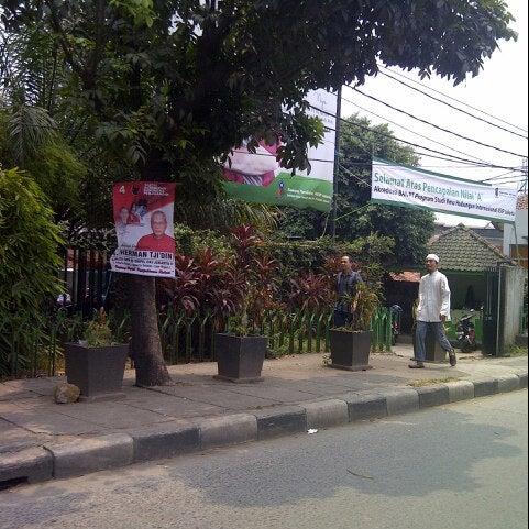 Photo taken at Institut Ilmu Sosial dan Ilmu Politik (IISIP) by unsur °. on 9/20/2013