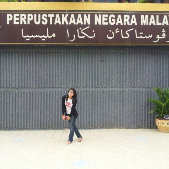 Photo taken at National Library (Perpustakaan Negara) by Nur Wahida M. on 9/29/2012