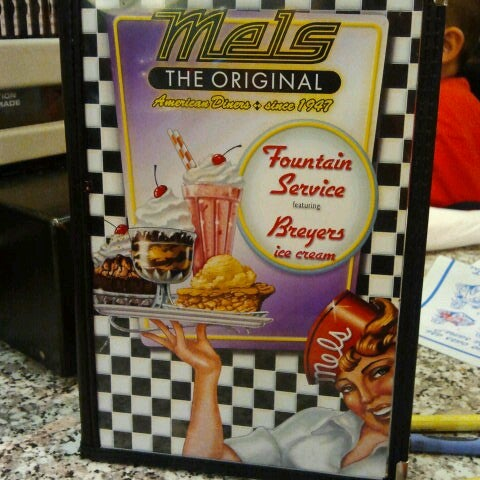 Photo taken at The Original Mel's Diner by Sheryl S. on 9/26/2012