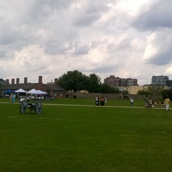 Photo taken at Fort York by Michael H. on 7/19/2015