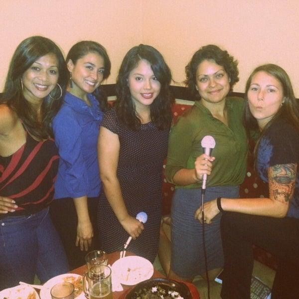 Photo taken at Chorus Karaoke and Cafe by Foodie Diva B. on 9/11/2013
