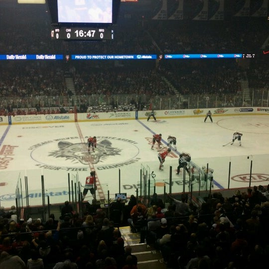 Photo taken at Allstate Arena by Kevin K. on 10/14/2012
