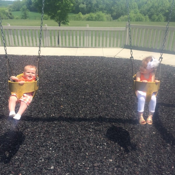 Photo taken at Annie's Playground by Leslie W. on 5/20/2014