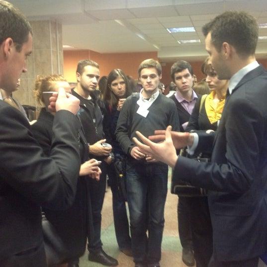 Снимок сделан в Международный университет «МИТСО» пользователем Orlanika 11/27/2012