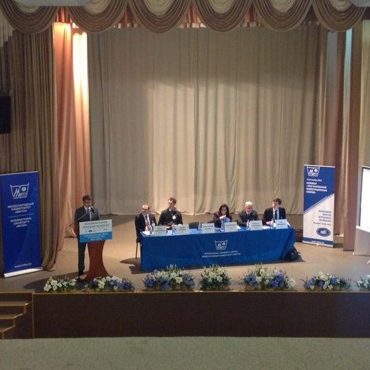 Снимок сделан в Международный университет «МИТСО» пользователем Orlanika 11/19/2012