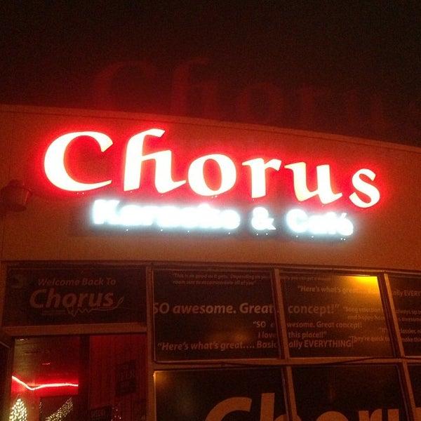 Photo taken at Chorus Karaoke and Cafe by Vic C. on 6/5/2013
