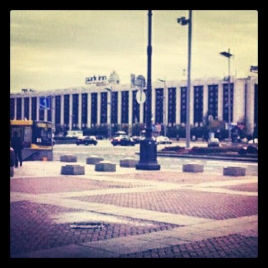 Снимок сделан в Park Inn by Radisson Pulkovskaya пользователем Ksusha M. 10/18/2012
