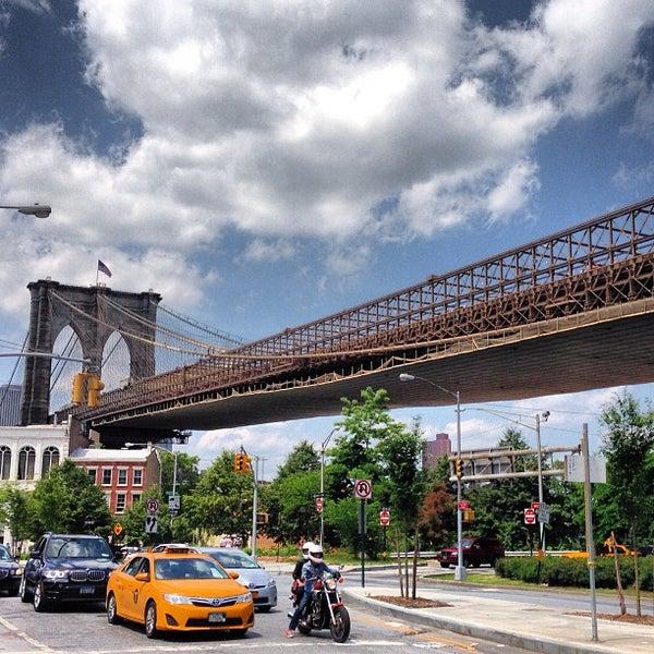 Photo taken at Brooklyn Bridge Park by Michael L. on 6/9/2013